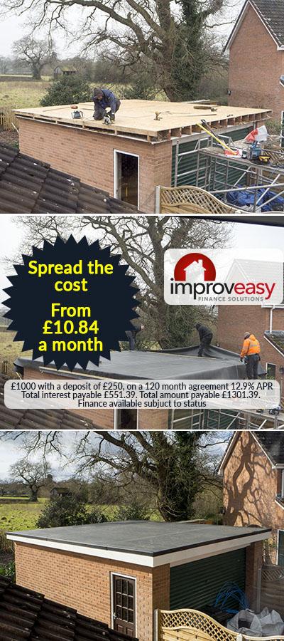 Flat roof finance