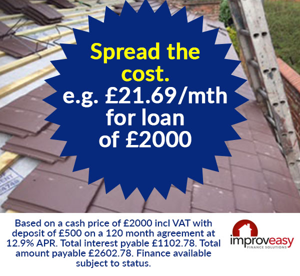 Finance for roofing